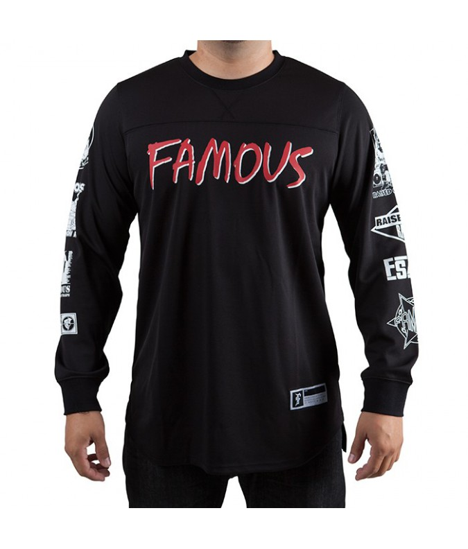 Raised on Rap LS Mesh Jersey