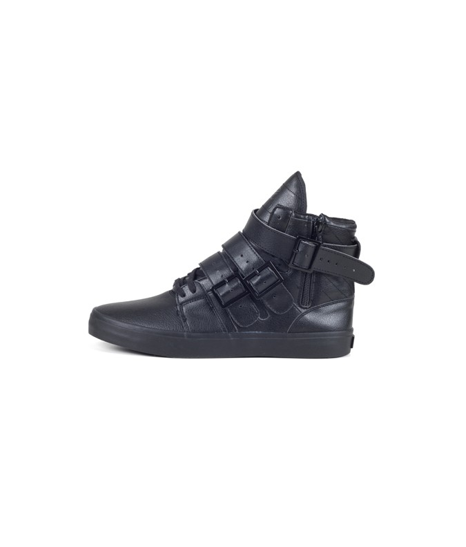 Straight Jacket VLC black leather